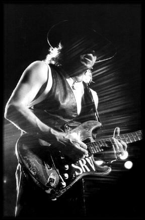 Stevie Ray Vaughn   [photographer unknown]