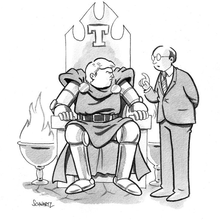 Daily Cartoon 120815 trump villain - The New Yorker