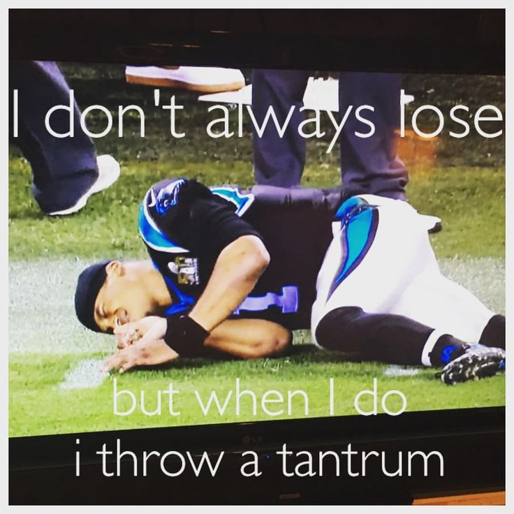 My favorite moment of Super Bowl 50! Someone call the WAAA-ambulance for poor Baby Cam. superbowl50 denver broncos cam newton carolina panthers NFL football CBS meme