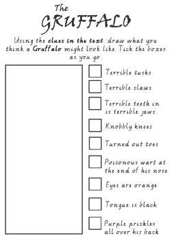Visualising - Drawing 'The Gruffalo'                                                                                                                                                      More