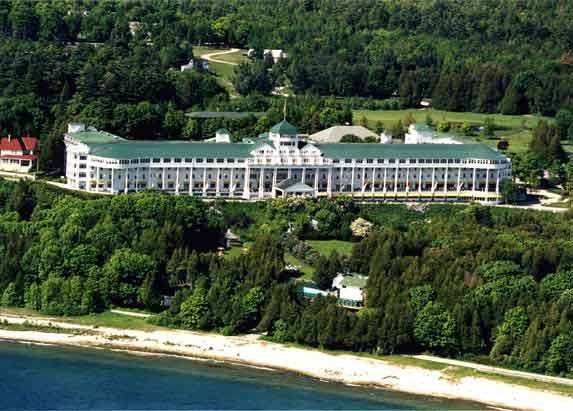 The Grand Hotel, Mackinaw Island, Michigan