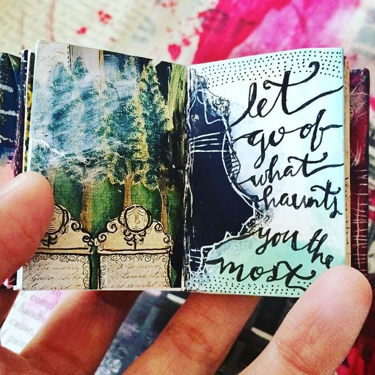 My special guest today on #thejournaldiaries is mixed media artist Roxanne (@bybun) from California. Seeing her art journal is like flipping through layers of a never ending magical journey! See more of her inspiring pages now up on the blog! (link in profile) by seaweedkisses