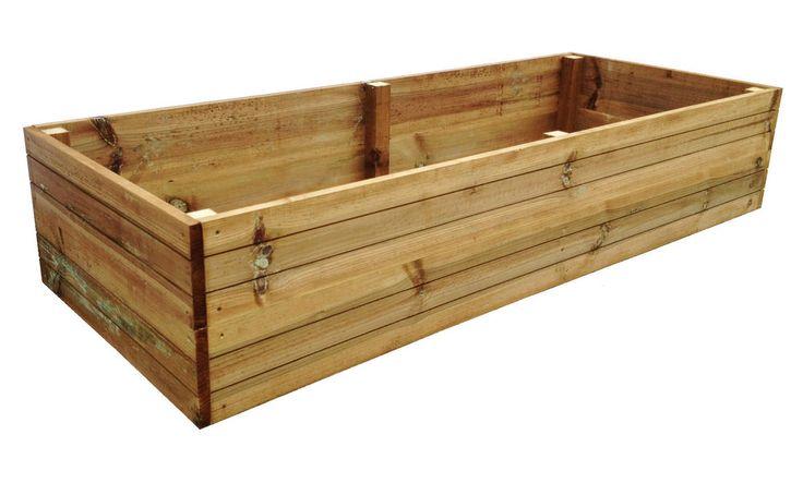 Premium wooden pressure treated raised garden vegetable - Pressure treated wood for garden beds ...