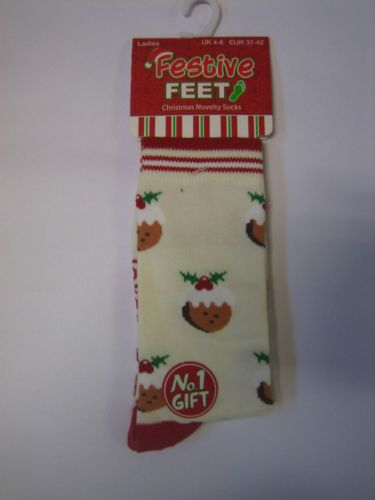 Ladies Christmas Socks Ladies Girls Novelty Socks Stocking Filler Santa Reindeer | eBay