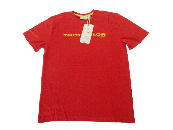 Triko krátký rukáv s nápisem Tom Tailor.