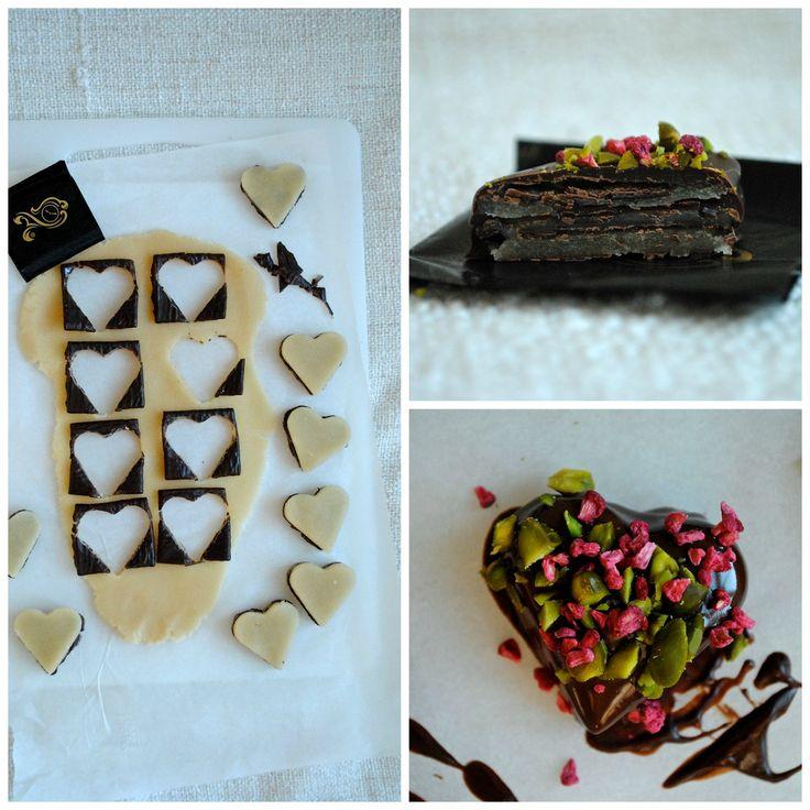 Julekonfekt med After Eight til 1. søndag i advent - Anne au Chocolat