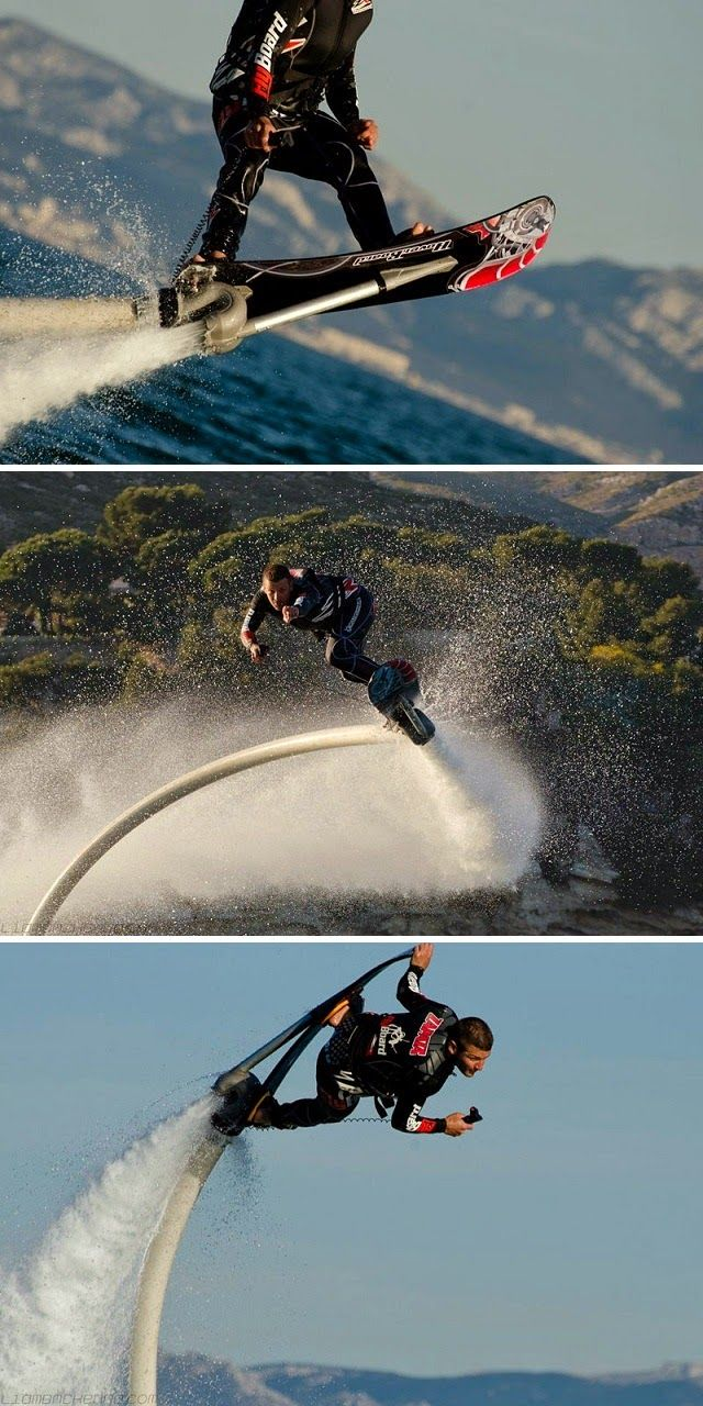 ZR Hoverboard Combine Surfing, Snowboarding And Water Jets In A Single Boards