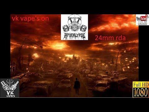 Apocalypse Armageddon 24mm RDA + build by Vk vape's (Greek)