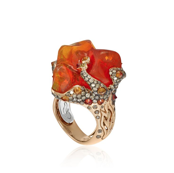 A fiery design for a bold look.   Find Alberto Prandoni by Italian Design Jewelry at Grenon's> http://www.grenons.com?utm_content=buffer2a25a&utm_medium=social&utm_source=pinterest.com&utm_campaign=buffer