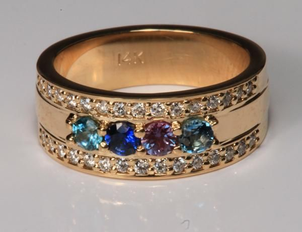 17 best ideas about family ring on
