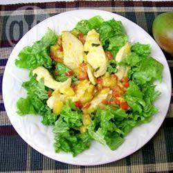 Warme kip en mangosalade @ allrecipes.nl