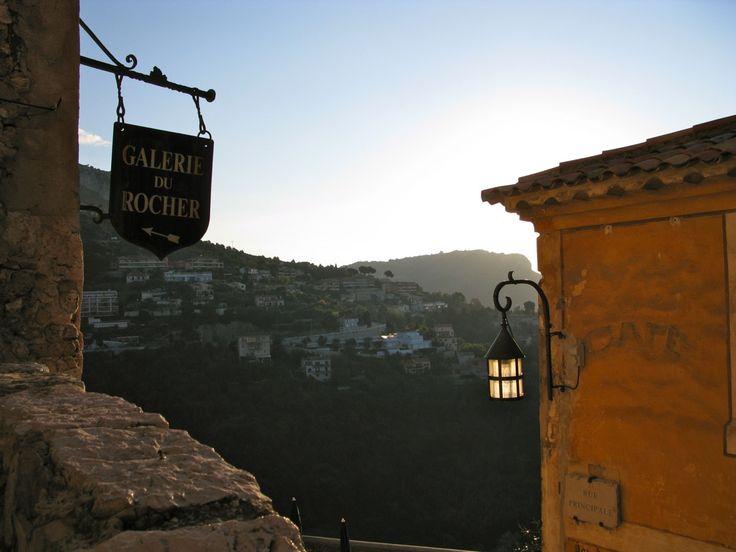 Eze, pieni kylä Ranskan Rivieralla - TÄMÄ MATKA
