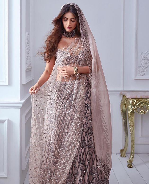 Sonam Kapoor Transparent Dress Spicy Stills