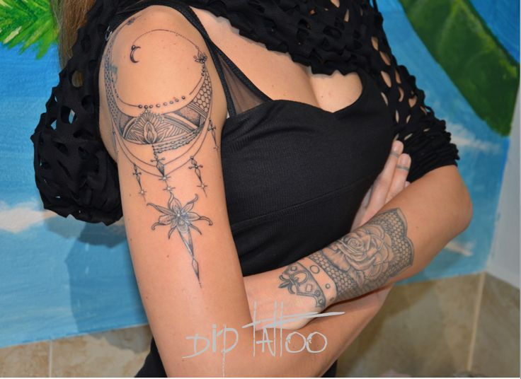 Geometrik Tattoo, Lotus Tattoo, Rose Tattoo, Dot work Tattoo
