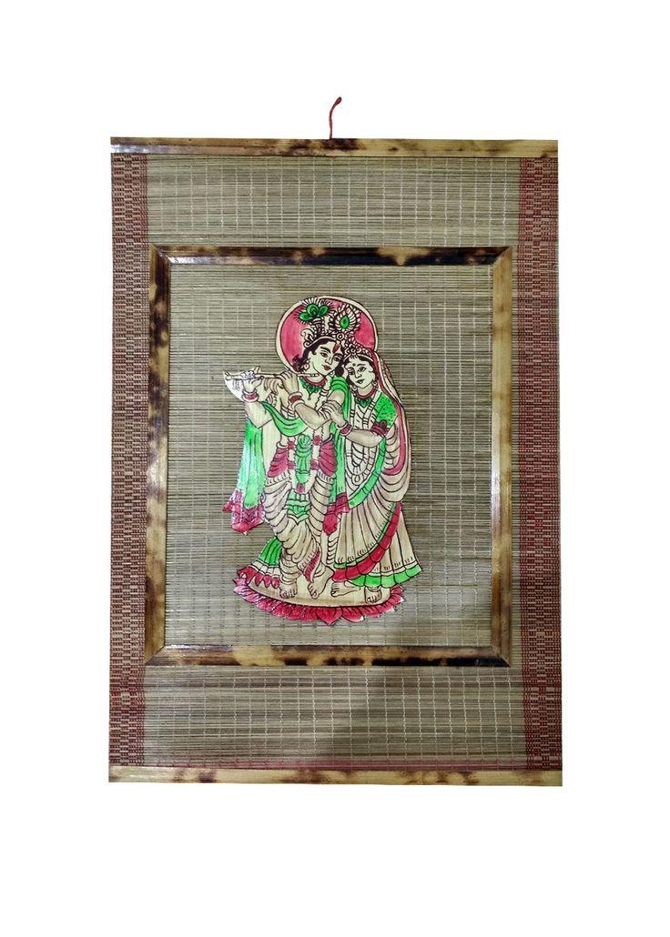 #Radha-Krishna Bamboo Frame by @ReturnFavors.