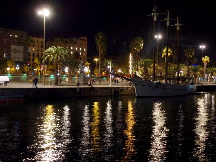 Barcelona wieczorem