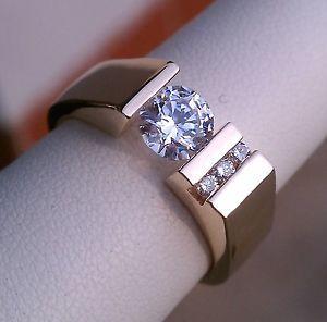 Gelin Abaci Tension Set Rings | ... 14k Yellow Gold Diamond Ring Gelin Abaci Tension Set 81ctw | eBay