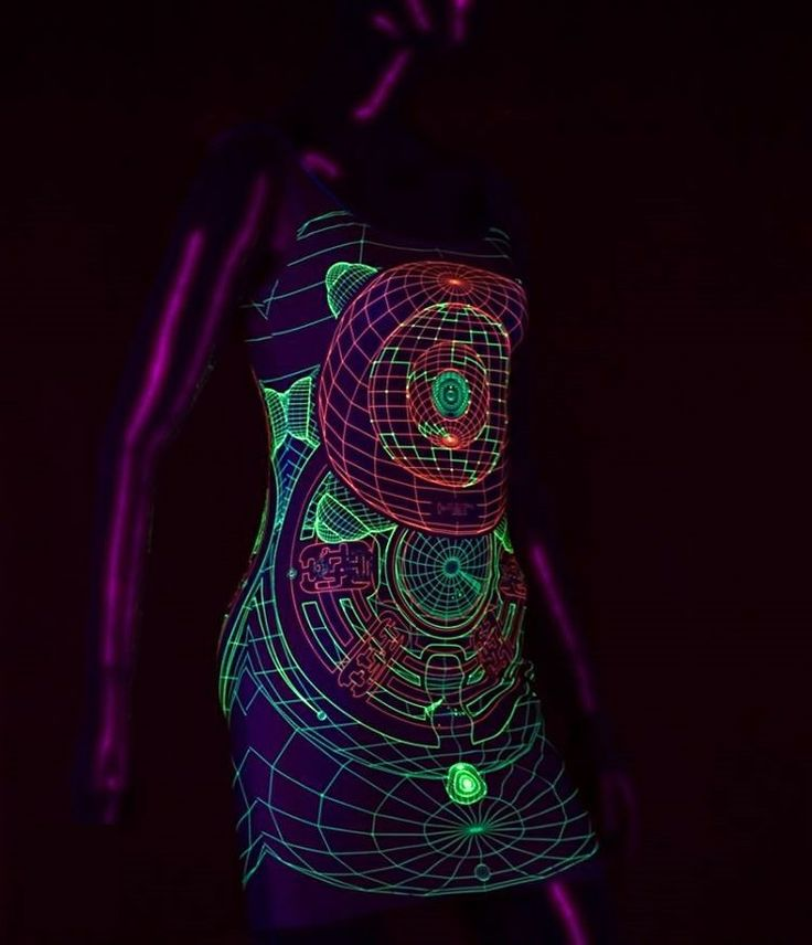 Black light reactive 3D dresses from Monkey Bunny Inc. Includes FREE 3D glasses! Enter coupon code RAVER and SAVE 10% when you shop Monkey Bunny Inc. SHOP https://squareup.com/market/monkey-bunny