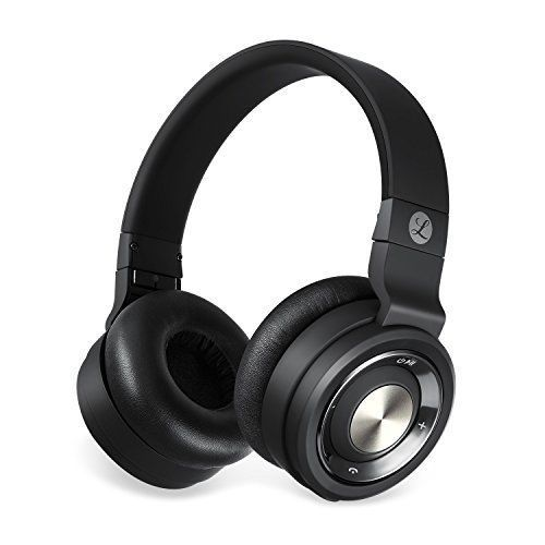 Wireless Headsets Portable Bluetooth Stereo Sound On Ear For Cell Phone Pc New #WirelessPortableBluetoothStereoSound