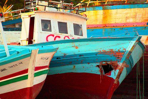 cemetery boat
