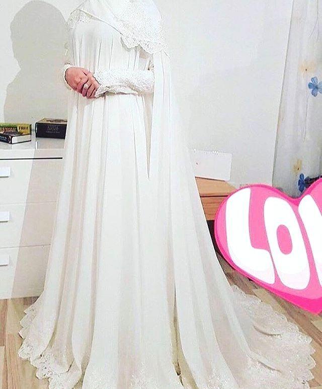 Gelinlik Tesettur Gelinlik Gelinlik Tesettur Gelinlik Modelleri 2020 Muslimah Wedding Dress Nikah Dress Wedding Dresses