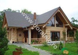 Casa din lemn, cabana din busteni