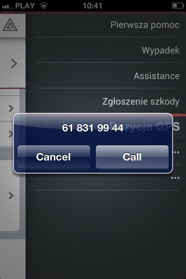 Aplikacja dla dealerów #Subaru - numer Assistance.  #dealershipapps #mobileapps #aplikacjewebowe