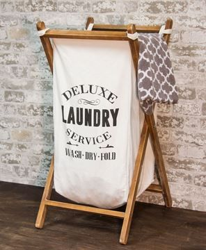 Show details for Deluxe Laundry Basket
