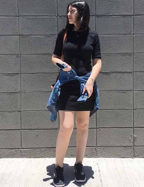 b01622878d 19 Cute Denim Shirt Outfit Ideas