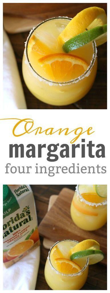 Orange Margarita Recipe (Three Ingredients)