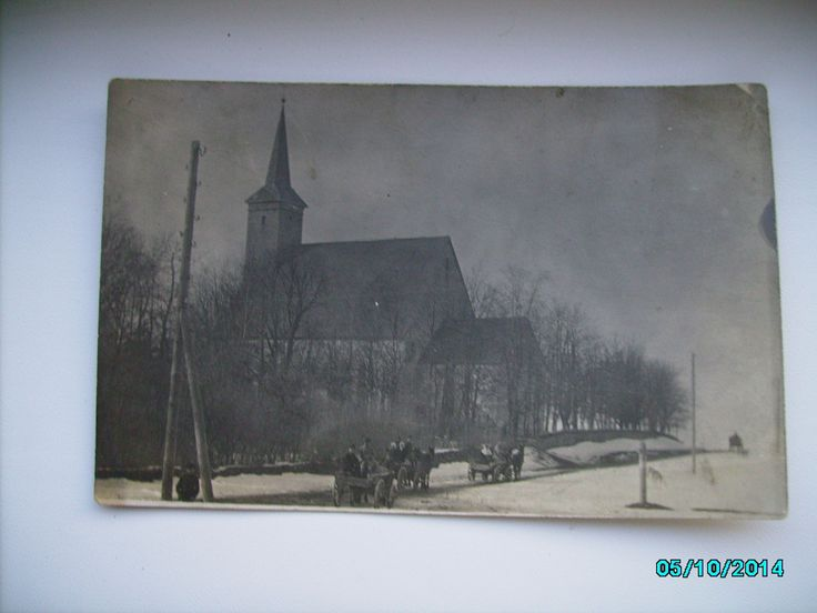 LÄÄNE VIRUMAA KADRINA KIRIK , FOTO TEPPER , - 1930s