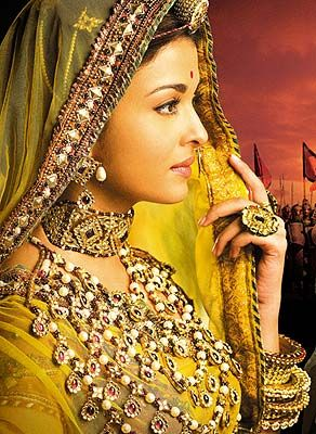 Confused about fusion wedding!  How much is TOO much? :  wedding Aishwarya Jodha Akbar
