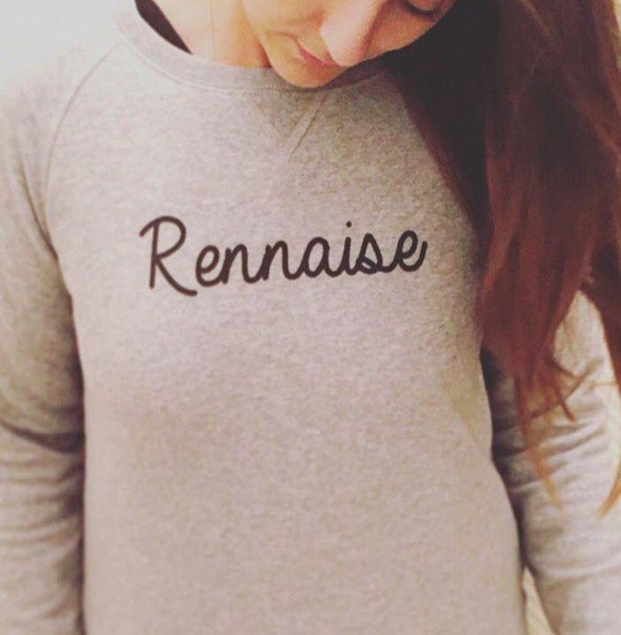 Sweat femme Rennaise de rennes_born_and_breizh