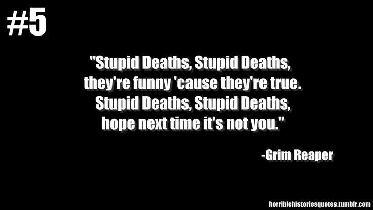 horrible histories quote