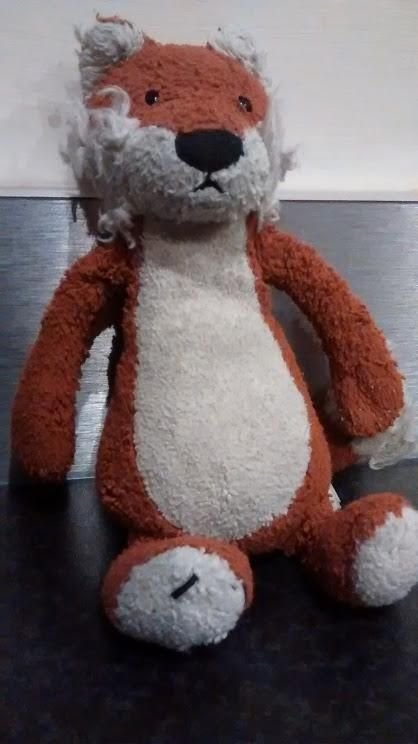 Found on 31 May. 2016 @ S35 0ER. Soft toy found near my driveway. A fox? Visit: https://whiteboomerang.com/lostteddy/msg/d9m7tr (Posted by Kas on 05 Jun. 2016)