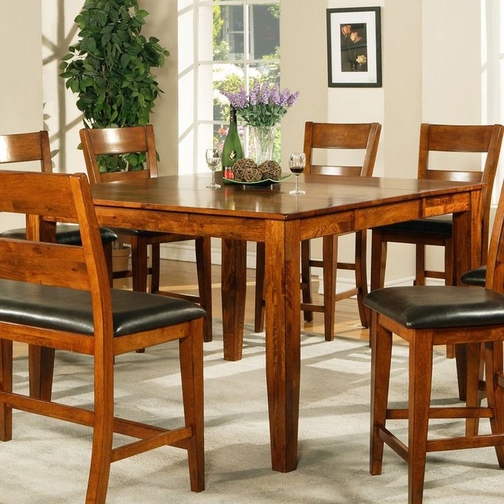 tall dining room table and chairs counter height tables high black marble