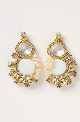 Earring inspiration at Anthropologie.
