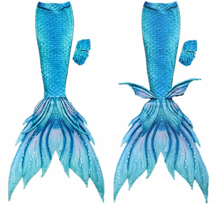 Fairy Aqua Green Adult Mermaid Tail Kids Mermaid Tails with Monofin silicone fin