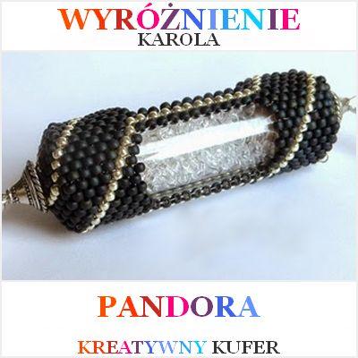 Wyniki Wyzwania Tematycznego - Mityczna postać: Pandora | Kreatywny Kufer http://ukaroli.blogspot.com/