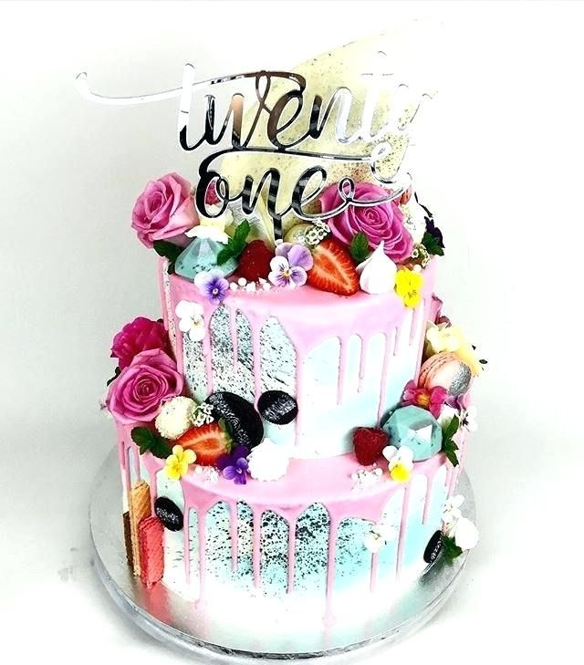Swell Unique 21St Birthday Cake Ideas For Her Fantastic Inspiration Personalised Birthday Cards Xaembasilily Jamesorg