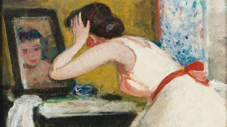 Francois Gall's Eugénie Penchée Vers Le Miroir