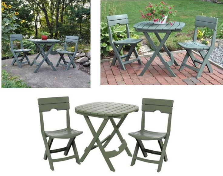 Outdoor Furniture Set Garden Coffee Tables Patio Chairs Yard Table Cafe Bistro #OutdoorCafeBistroSet