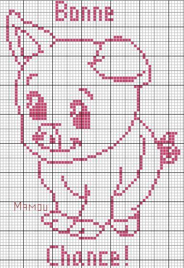 cochon - pig - point de croix - cross stitch - Blog : http://broderiemimie44.canalblog.com/