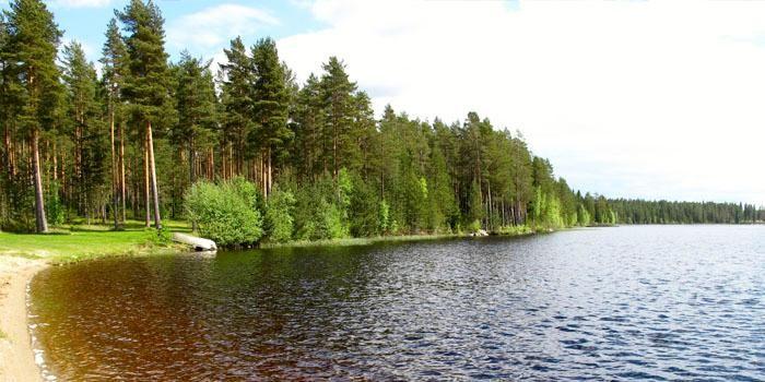 Säläisjärvi Camping Jurva, Finland.