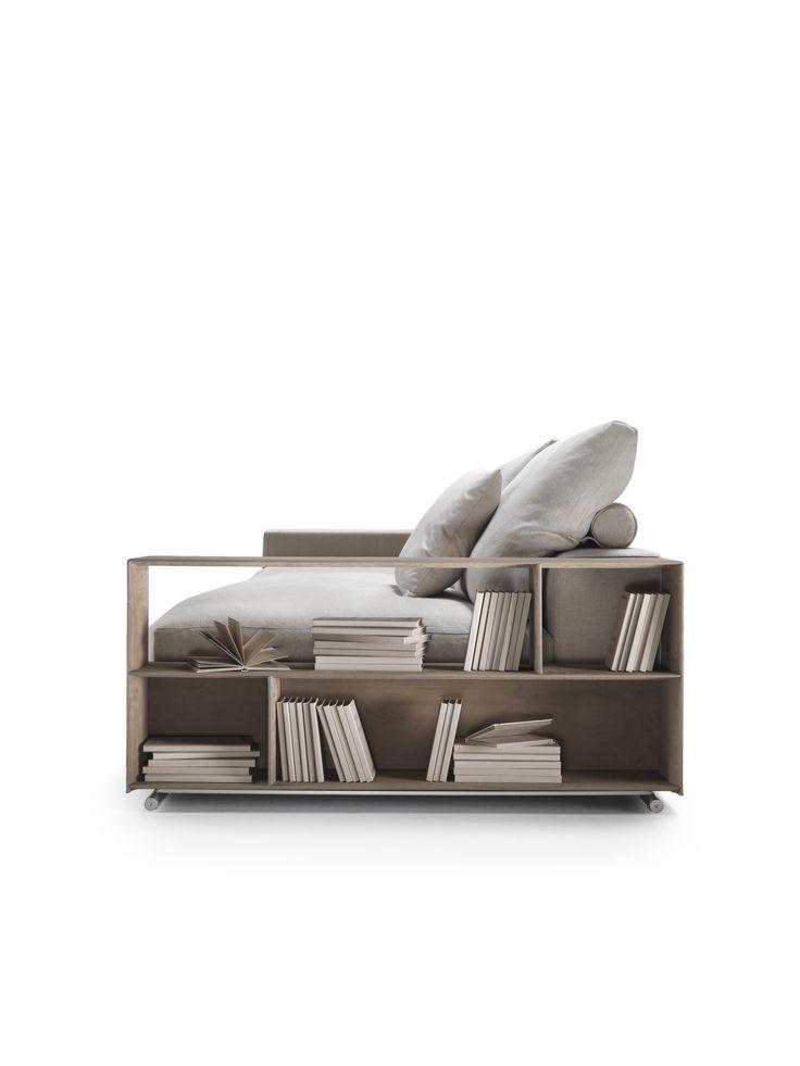 Flexform Groundpiece #bookshelve #flexform #fabric Novalis.O Oisterwijk