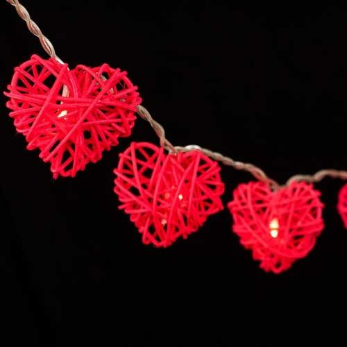 Wicker Heart - LED 10