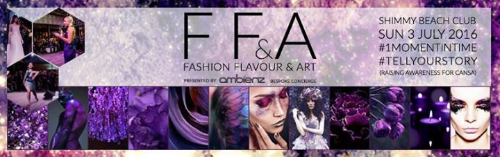 Book now Fashion Flavour & Art 2016 on All Events