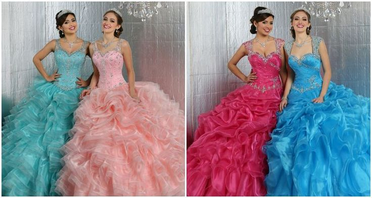 These fabulous Quinceanera Dresses websites will make you daydream of your beloved gown: Vero Solis, Vizcaya & more! Check them out...