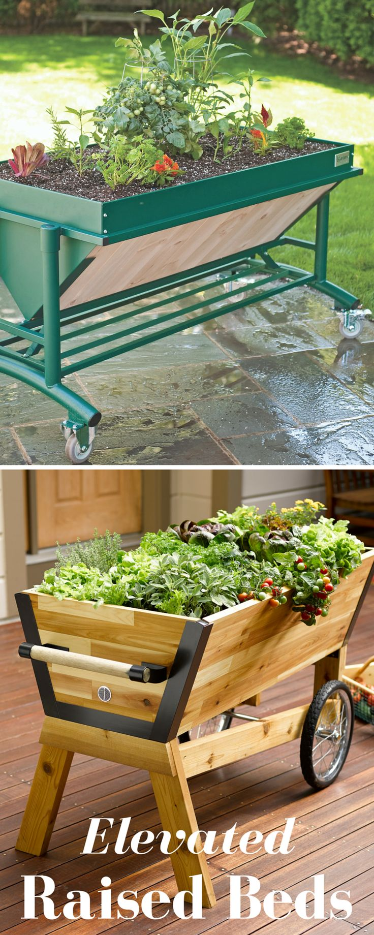 Our Elevated Raised Garden Beds Make Gardening A Breeze