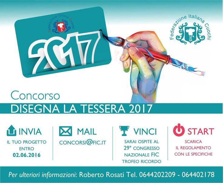 CONCORSO DISEGNA LA TESSERA SOCIALE 2017 | Unione Cuochi Valle d'Aosta